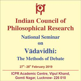 Indian Council of Philosophical Research, ICPR, New Delhi
